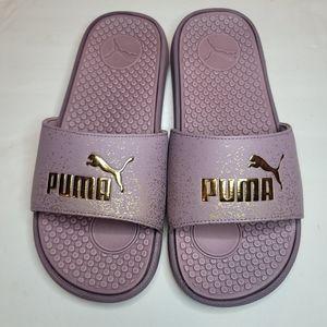 Puma Women's Purple Flip Flops Sz 8
